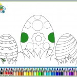 Coloring In Easter Activity